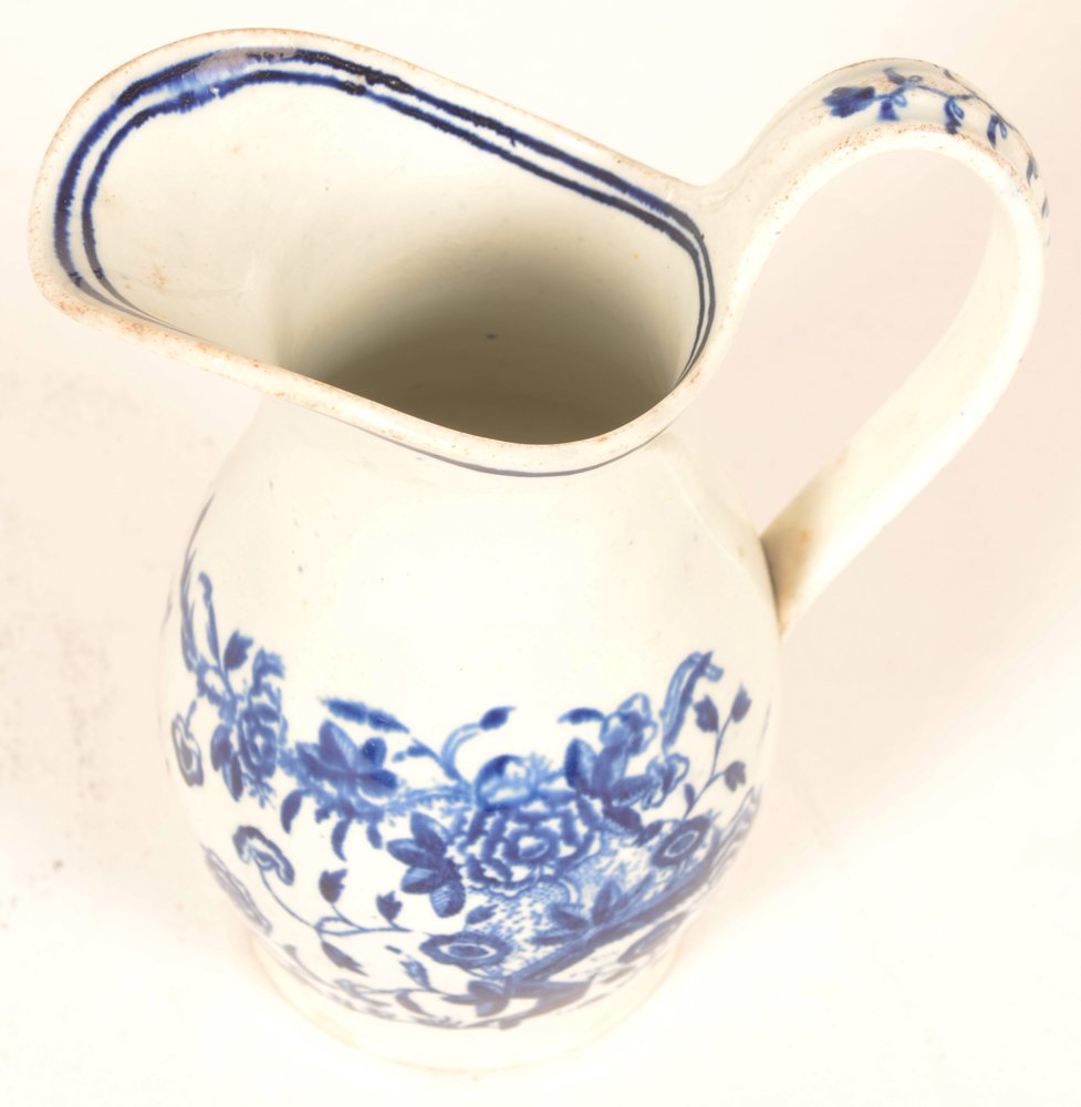 18th century Worcester porcelain  — ?milk jug