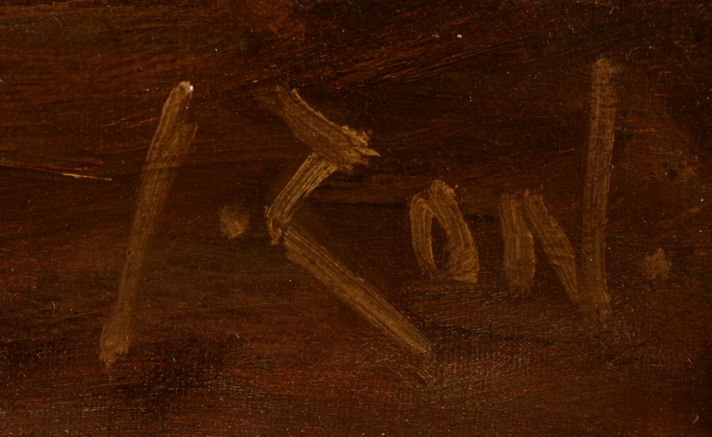 Jacques Zon — Signature of the artist, bottom right
