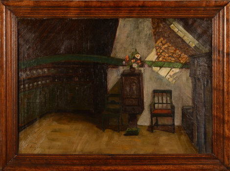 Ingeborg Akerman the old wooden house