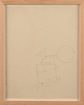 Werner Cuvelier abstract drawing