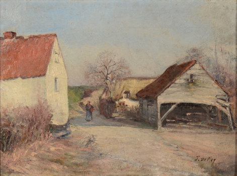 Jos De Mey a farmhouse