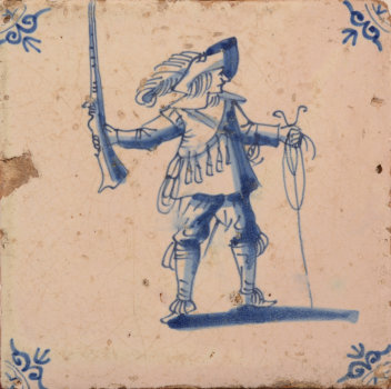 Dutch Musketeer tile
