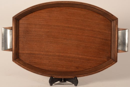 Delheid Freres art deco tray