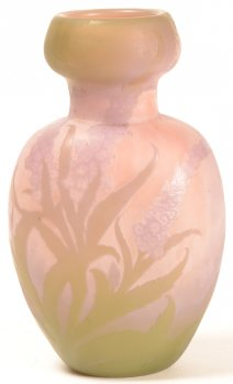 Etablissements Galle Vase pastel colours