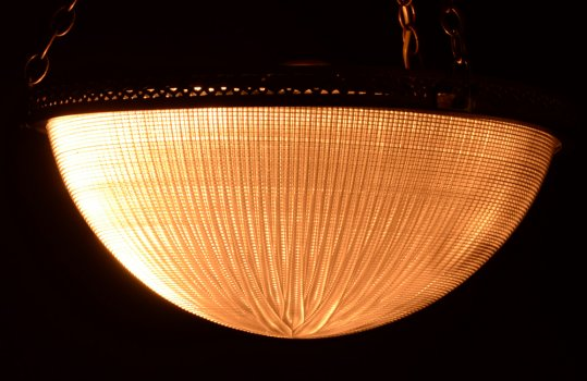 Holophane ceiling lamp