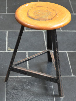 An industrial stool 1950's