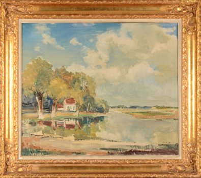 Willy Jocque the river Leie