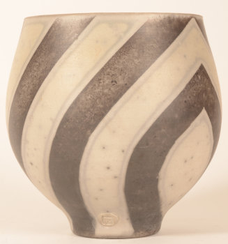 Potter TA striped vase
