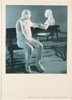 George Segal signed Knokke poster 1989