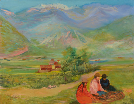 Solari D.A. women from the Andes