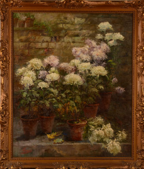 Alexandre Tielens the chrysanthemums show