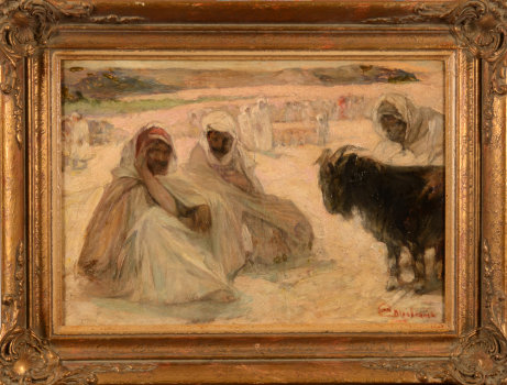 Jules Van Biesbroeck the bedouins
