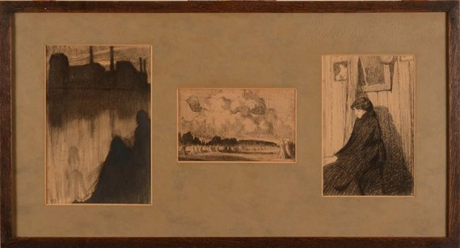 Achiel Vereecken three drawings