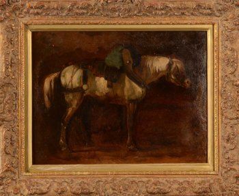 19th century study of a horse
