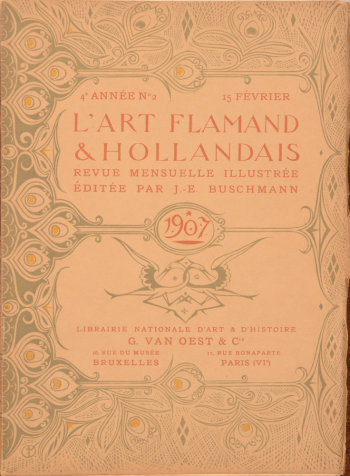 Art Flamand et Hollandais 1907