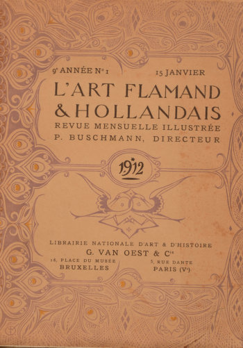 Art Flamand et Hollandais 1912