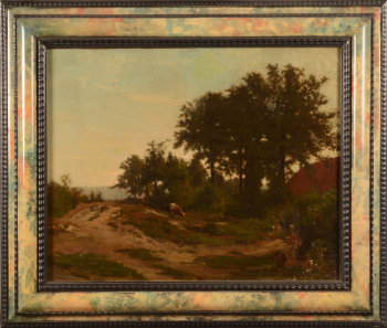 Belgian School 19th century landscape