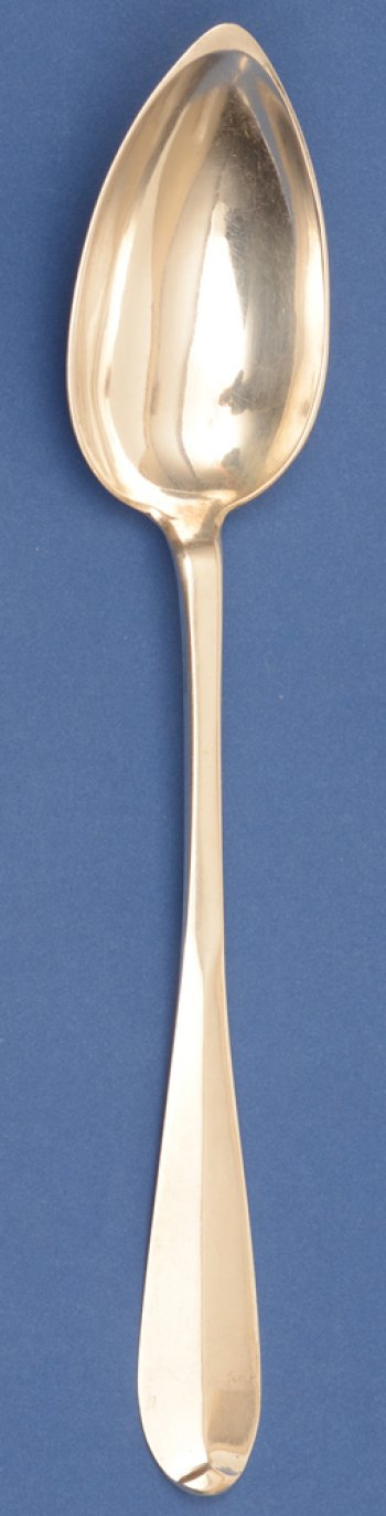 Francois Peeters silver vegetable spoon