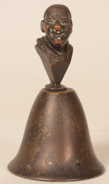 Bizetti bronze table bell