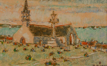 Alfons Blomme Church in Brittanny