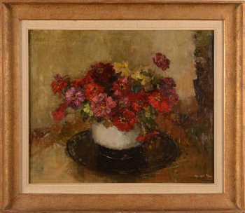 Marcelle Blum Flower still life