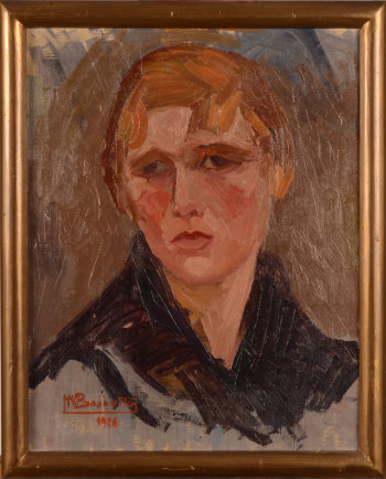 Hélène Bojovitch-De Schaeck portrait of a girl 1926