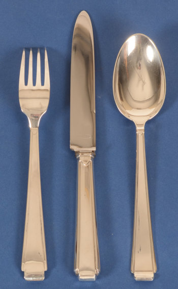 Bremen Silberwaren Fabrik art deco cutlery set