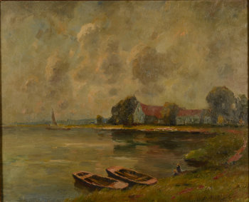 ​Herman Broeckaert houses near a lake