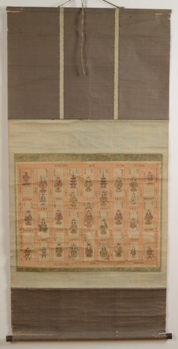 Buddhist Scroll Painting