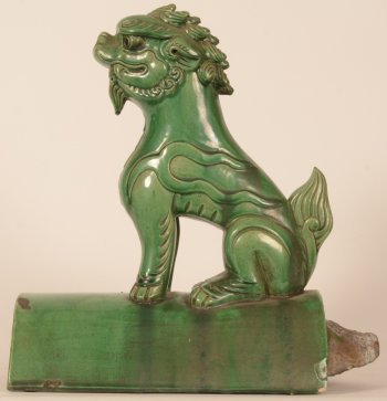 Chinese roof tile Fo lion