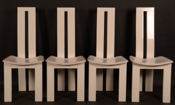 Pietro Costantini set of 4 chairs