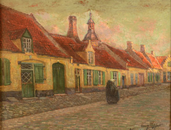 Omer Coppens view of Nieuwpoort 1914