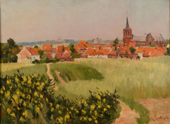 Rene De Baugnies village view