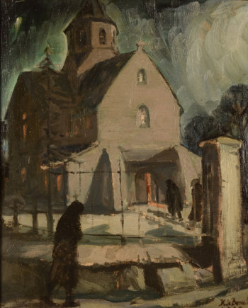 Karel De Bondt the church of Afsnee