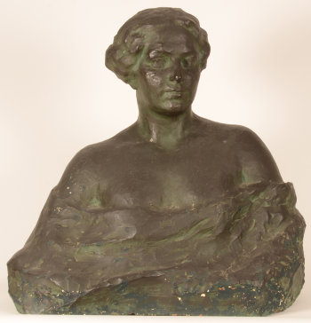 Carl De Cock the sculptors wife ca. 1913