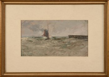 Clement De Porre seascape