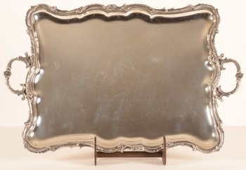 Delheid Freres L XV serving tray