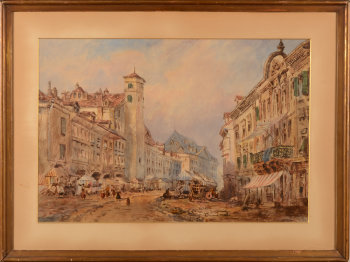 Jean-Louis Demarne View of Basel