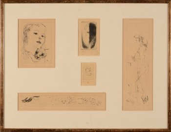 Frans Dille etchings