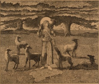 Charles Doudelet good shepherd