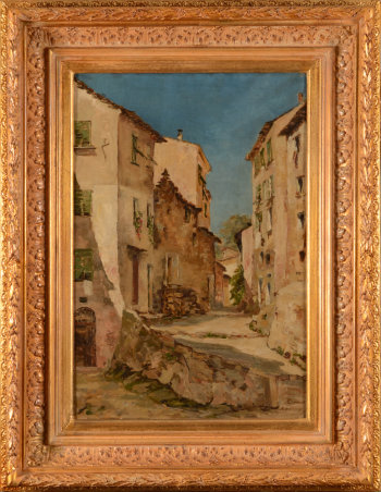 Marguerite Dumont View of Menton 1891