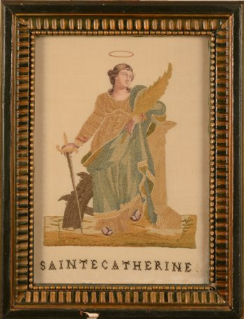 Embroidery Saint-Catherine