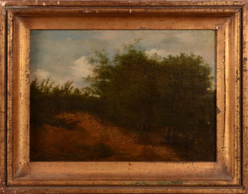 Follower of Theodore Rousseau landscape
