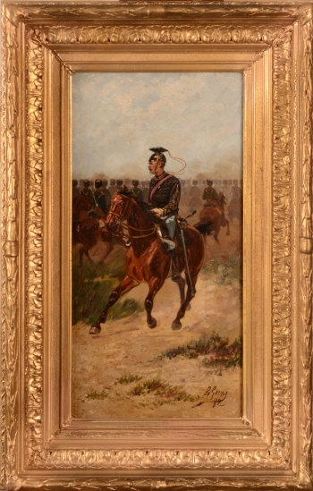 Louis Geens the cavalry officer