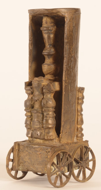 Vic Gentils bronze chess tower