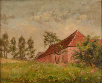 Gustave Goemans la ferme rose a Uccle
