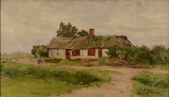 Adriaan Joseph Heymans The Clog Maker's House
