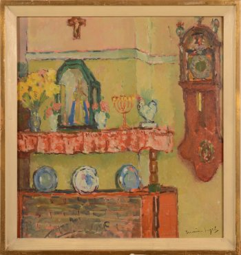​Marie Ingels-Pauwaert interior of the artist