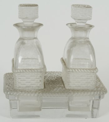 Lalique France cruet set