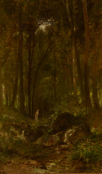 Henri Langerock A walk in the Forest
